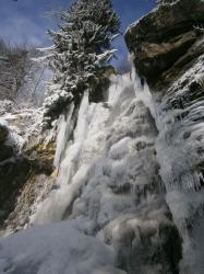 Bystré Waterfall